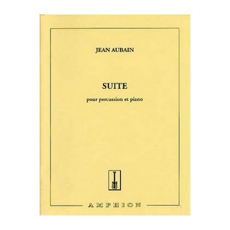 Suite pour Percussion et Piano