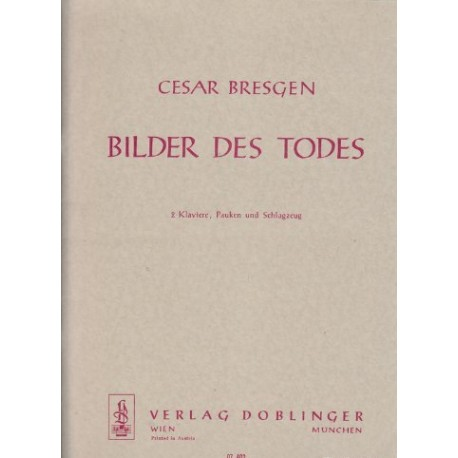 Bresgen, Cesar