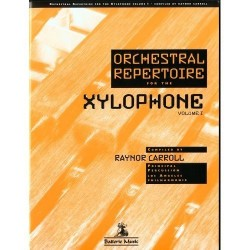Orchestral Repertoire for the Xilophone Vol. 1