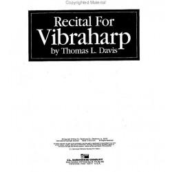 Recital for Vibraharp