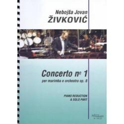 Concerto nº 1 per Marimba e Orchestra op. 8