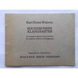 Soundscreen Klangraster
