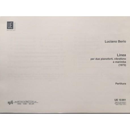 Linea, per due Pianoforti, Vibrafono e Marimba