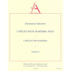 5 Pieces pour Marimba Solo