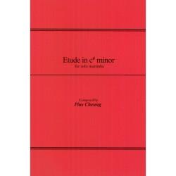 Etude in C# Minor for Solo Marimba
